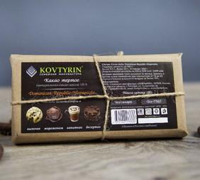 Какао тертое 100% без тростникового сахара
