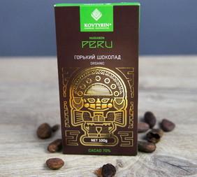 Органический горький шоколад 70% Peru Maranon